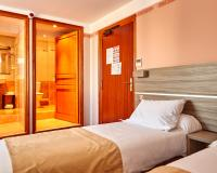 Au Relais Nivernais - Chambre Twin - 2 lits 1 place